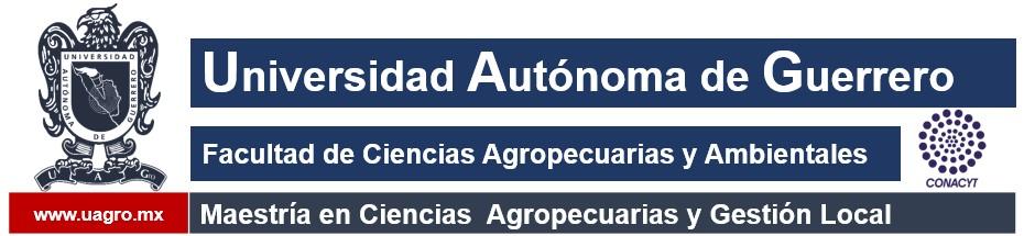 Maestría en Ciencias Agropecuarias y Gestión Local